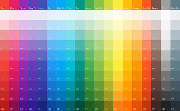 Material UI Colors